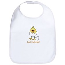 Just Hatched Newborn Baby Bib