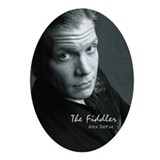 The Fiddler (Alex DePue) Keepsake Oval Ornament