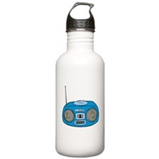 Blue Radio Water Bottle