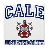 CALE University Tile Coaster