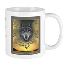 Wolf ~ 'Shaman's Dream' ~ Small Small Mug