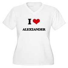 I Love Alexzander Plus Size T-Shirt