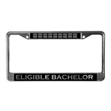 Eligible Bachelor License Plate Frame