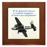 Radial B-25 Framed Tile
