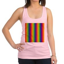 Wild Zany Rainbow Menagerie for Racerback Tank Top