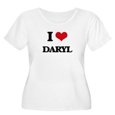 I Love Daryl Plus Size T-Shirt