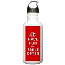 Have Fun Smile Often Water Bottle