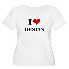 I Love Destin Plus Size T-Shirt
