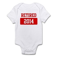 Retired 2014 (red) Infant Bodysuit