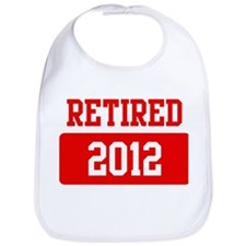 Retired 2012 (red) Bib
