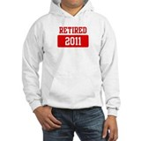 Retired 2011 (red)  Hoodie
