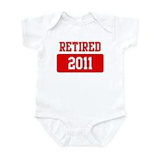 Retired 2011 (red) Infant Bodysuit