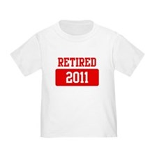 Retired 2011 (red) T