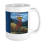 Butterfly Art Large Coffee Cup Butterfly Art Mug