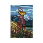 Butterfly Rectangle Magnet 10 pack Landscape Art