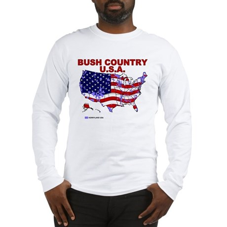Bush Country USA (County) Long Sleeve T-Shirt
