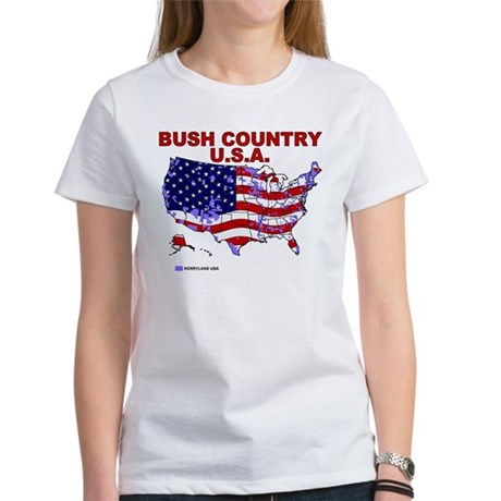 Bush Country USA (County) Women's T-Shirt