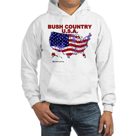 Bush Country USA (County) Hooded Sweatshirt
