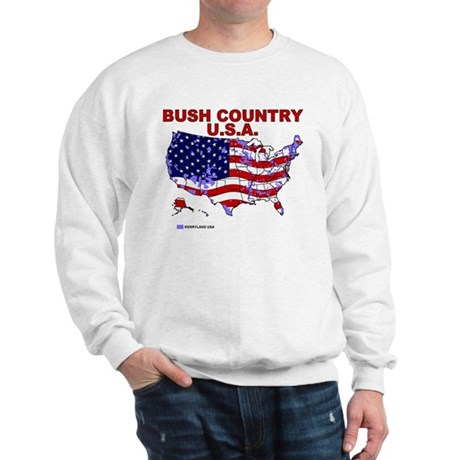 Bush Country USA (County) Sweatshirt