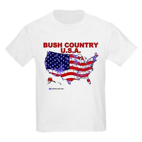 Bush Country USA (County) Kids T-Shirt