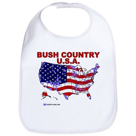 Bush Country USA (County) Bib