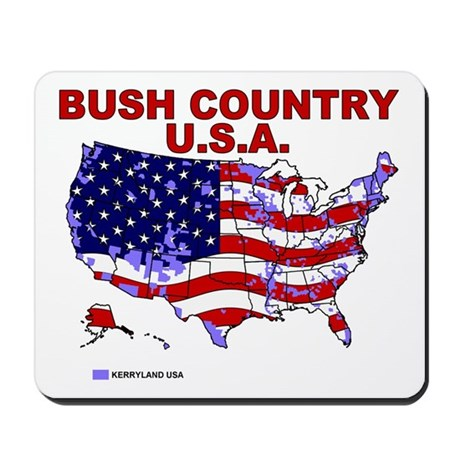 Bush Country USA (County) Mousepad