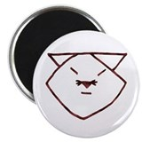 "Rose Anime Cat 2.25"" Magnet (100 pack)"