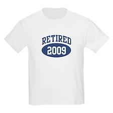 Retired 2009 (blue) T-Shirt