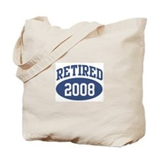 Retired 2008 (blue) Tote Bag