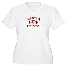 2009: Property of Retirement T-Shirt