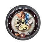 'Radio Gods' wall clock