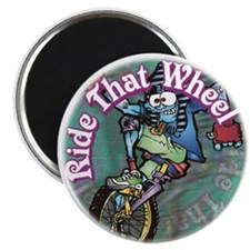 Ride That Wheel Family Pack of Magnets