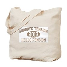 Hello Pension 2013 Tote Bag