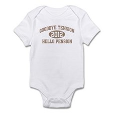 Hello Pension 2012 Infant Bodysuit