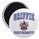 "GRIFFIE University 2.25"" Magnet (10 pack)"