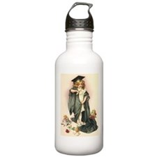 Vintage Style Graduation Water Bottle