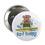Surf Monkey (girl) Button