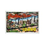 Caldwell Idaho Greetings Rectangle Magnet (10 pack