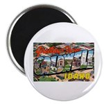 Caldwell Idaho Greetings Magnet