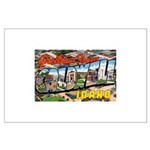 Caldwell Idaho Greetings Large Poster
