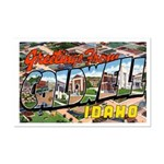 Caldwell Idaho Greetings Mini Poster Print