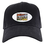 Caldwell Idaho Greetings Black Cap