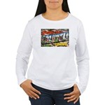 Caldwell Idaho Greetings Women's Long Sleeve T-Shi