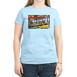 Caldwell Idaho Greetings Women's Light T-Shirt