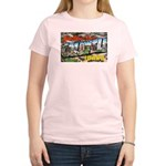 Caldwell Idaho Greetings (Front) Women's Light T-S