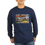 Caldwell Idaho Greetings (Front) Long Sleeve Dark