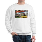 Caldwell Idaho Greetings (Front) Sweatshirt