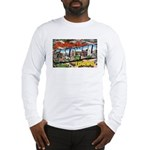Caldwell Idaho Greetings (Front) Long Sleeve T-Shi