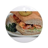 Da Night Trippa Po-boy Ornament (Round)