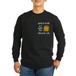 Band Is Great Pocket Image Long Sleeve Dark T-Shir